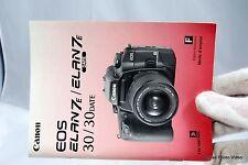 Canon Camera EOS Elan7e/Elan7e Date Instruction Manual Guide Genuine F french