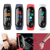 Aeitto W3 Smart Fitness Armband mit Pulsmesser Wasserdicht IP68 Fitness Tracker
