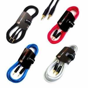 3.5mm Stereo Mini Jack to Jack AUX Lead / Audio Auxiliary Cable MP3 Car DJ Hi-Fi