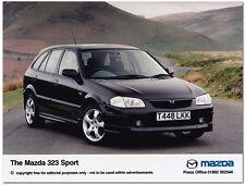 Mazda 323 Sport Press Release Photograph