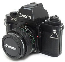 Canon NEW F-1 35mm SLR Film Camera + FD 50mm F1.4 Lens. Filter