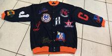 Negro League Baseball Museum Black Wool Blend Jacket Coat Men's Size 3XL NEW