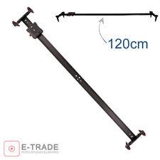 47.3'' 120CM Camera Track Dolly Slider Rail Shooting Rail Stabiliser for DSLR DV
