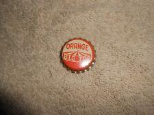 Big Top Orange Flavored Soda Pop Vintage Circus Cork-lined Unused Bottle Cap
