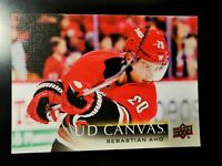 2018-19 UPPER DECK SERIES TWO UD CANVAS SEBASTIAN AHO C134