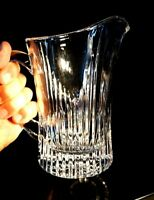 Beautiful Heavy Crystal Pitcher
