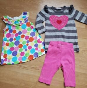 Hanna Andersson Girls 80 Outfit