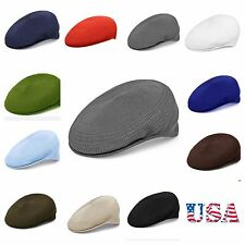 Men's Cap Mesh Flat Ivy Cap Newsboy Hat Vent-air Golf Hiking Fishing  Driving