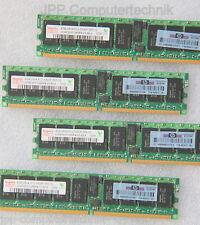 16GB 4x 4GB PC2-5300P DDR2 667MHz ECC Registered Server Memory RAM 240-Pin MAJOR