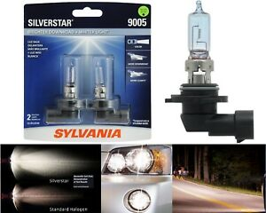 Sylvania Silverstar 9005 HB3 65W Two Bulbs Head Light Low Beam Replace Upgrade