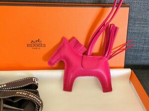 """Brand New Hermes Rodeo PM 2020 """"SO PINK"""" collection Rose Mexico - Rare Unicorn!"""