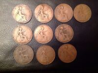 george v penny Date Run 1911 12 13 14 15 16 17 (Missing 18) 19 20 21 Good Coins