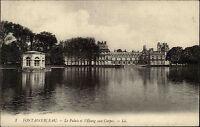 Fontainebleau Frankreich France Seine-et-Marne 1910 Palais Palast Schloss Teich