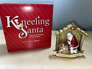 Santa Claus Baby Jesus Christmas Ornament Vintage The Kneeling Santa Roman Inc