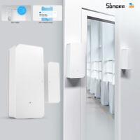 SONOFF DW2 Smart Home WiFi Safe Door Sensor Alarm Window Security Lock Detector!