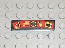 LEGO TRAIN Tile with control pattern ref 2431px1 /Set 4565 6774 4559 10020 65118