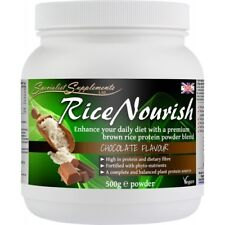 RiceNourish Protein Powder Shake and Diet Supplement  (Choc and Mint Flavour)