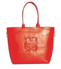 Modalu Buckingham Paprika Shopper Bag Leather Tote Handbag Bucket Red Orange
