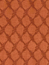 Twisted Lace Netting Diamond Shape Wallpaper in Rusty Reds   WU0808