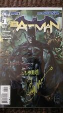 Batman #1 signed 1:25 variant New 52