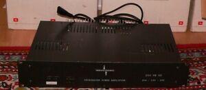 ELA Anlage 100V  Industronic 250Ve02 Endstufe 19 Zoll Rack