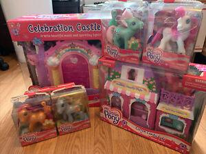 NRFB MLP G3 Celebration & Castle Cotton Candy Cafe Minty Star Swirl Autumn Skye