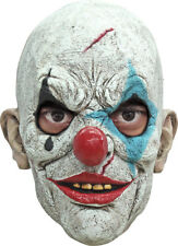 TEARS THE CLOWN SCARY LATEX HALLOWEEN HORROR HEAD MASK