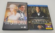The Great Gatsby Blu-ray & The Great Gatsby A&E DVD LOT