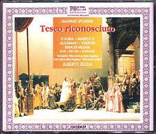 SPONTINI: TESEO RICONOSCIUTO Carlo Allemano Diego D'Auria Rosi ALBERTO ZEDDA 2CD
