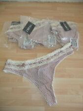 NEU ~ 6er Pack Damen String Slip Gr. 32-34 (003)