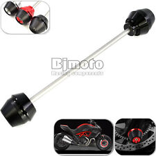 Motorcycle CNC Front Axle Slider Frame Sliders Protector for Ducati DIAVEL 11-15