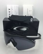 New OAKLEY BALLISTIC M-FRAME Safety glasses 11-162 Black w/ Grey ANSI Z87.1 Lens