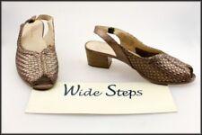 Buckle Open Toe Wide (C, D, W) Shoes for Women