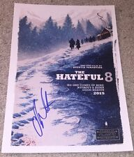 CHANNING TATUM SIGNED AUTOGRAPH THE HATEFUL 8 EIGHT 12x18 PHOTO POSTER