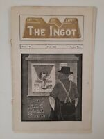 THE INGOT 1923 RARITAN NJ LOCAL HISTORY Factory Vintage MIDDLESEX COUNTY