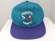 Charlotte Hornets NBA Retro Vintage Snapback Cap Hat New With Tags By adidas