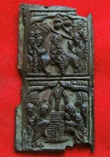 Ancient bronze religious artifact  Middle Ages Russian Empire