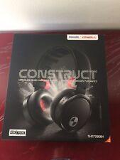 NEW IN BOX Philips SHO7205/BK O'Neill The Construct Headband Headphones