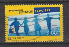 Timbre français oblitéré Cinquantenaire du mouvement Emmaüs YT 3282
