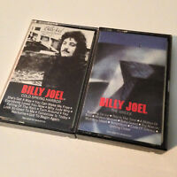 BILLY JOEL - Cold Spring Harbor & The Bridge - 2x Cassette Tape Lot - EX