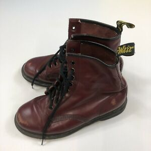Dr Martens size 8 Boots Cherry Red