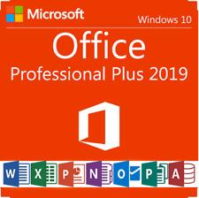 MS Office Professional Plus 2019 64/32bit Support Online Activation Code
