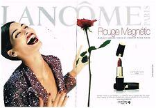 Publicité Advertising 1999 (2 pages) Cosmetique maquillage Lancome