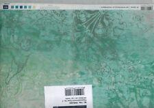 RI-7009-002 Paperpatchwork-Papier - grün - Engel - 25 Bögen - je 30 x 39 cm