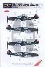 LF Models Decals 1/72 SWISS MESSERSCHMITT Bf-109E Part 4