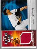 2010 Topps All Star Game Relic #AS-AP Andy Pettitte - Yankees