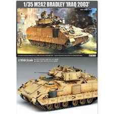 ACADEMY #13205 1/35 Plastic Model Kit M2A2 Bradley Iraq 2003 Tank OIF