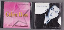 CELINE DION RARE THE FRENCH ALBUM + SUPERSTAR VIDEO CD KAROKEE