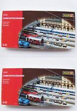 2 coffrets complémentaires de rallonges de quais Faller 120197