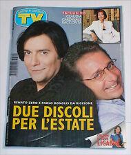 TV SORRISI E CANZONI 26 GIUGNO-LUGLIO 1997 RENATO ZERO BONOLIS LIGABUE CARDINALE